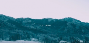 根羽村の風景