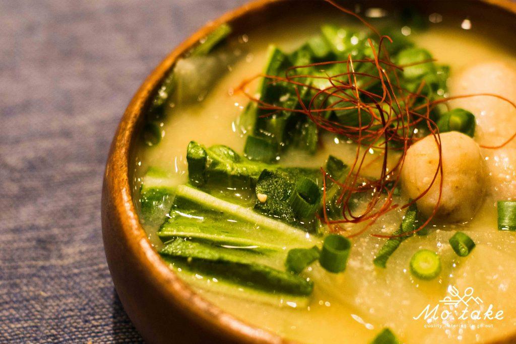 高森野菜のお味噌汁