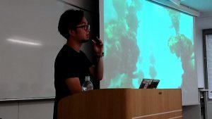 東京理科大での客員講師として中屋祐輔が登壇