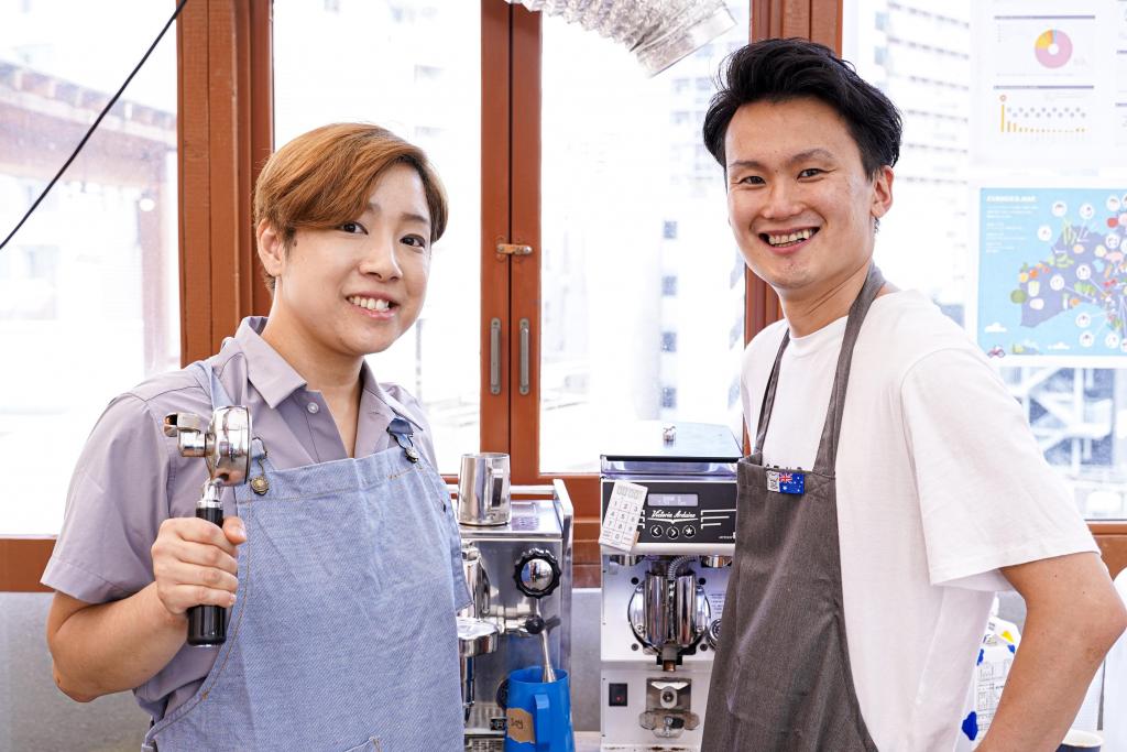 バリスタ・料理人写真